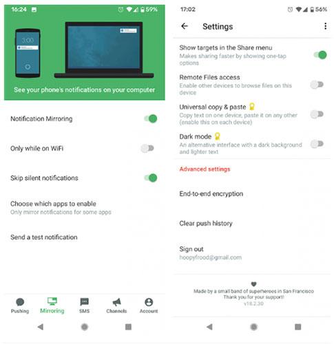 Nhận thông báo cuộc gọi trên PC bằng cách sử dụng Pushbullet