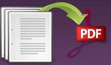 6 ứng dụng tạo file PDF tốt nhất cho Windows 10