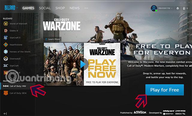link tải cod warzone