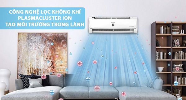Công nghệ lọc không khí trên điều hòa, máy lạnh Sharp