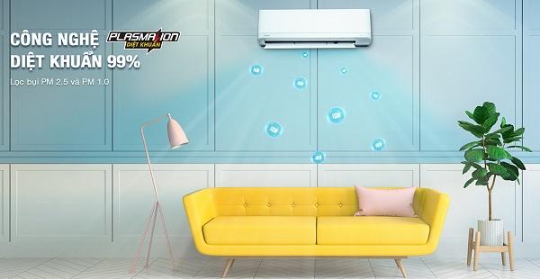 Công nghệ lọc không khí trên điều hòa, máy lạnh Toshiba