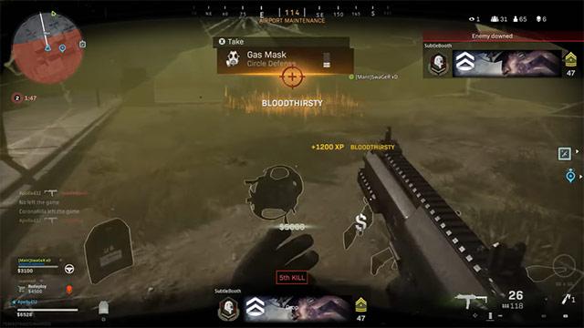 vòng bo cod warzone