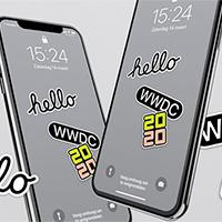 Mời tải bộ hình nền iPhone, iPad chủ đề WWDC 2020