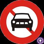 Biển số 103a: Cấm ô tô