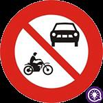 Biển số 105: Cấm ô tô và mô tô