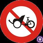 Biển số 111d: Cấm xe 3 bánh loại không có động cơ
