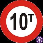 Biển số 115: Hạn chế trọng lượng xe