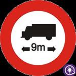 Biển số 119: Hạn chế chiều dài ô tô