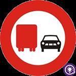 Biển số 126: Cấm ô tô tải vượt