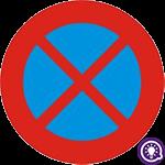 Biển số 130: Cấm dừng đỗ xe