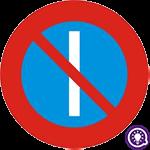 Biển số 131b: Cấm đỗ xe ngày lẻ