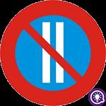 Biển số 131c: Cấm đỗ xe ngày chẵn