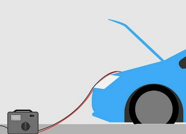 cách sạc bình ắc quy ô tô