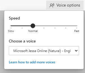Có thể thay đổi cả tốc độ và giọng nói