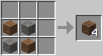 Công thức Coarse Dirt