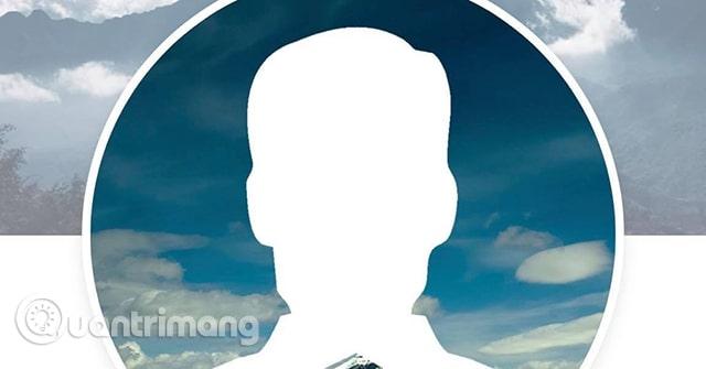 Tạo ảnh đại diện giấu mặt Facebook theo trends