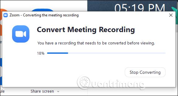 Cách ghi lại video học online trên Zoom Meeting - Ảnh minh hoạ 3