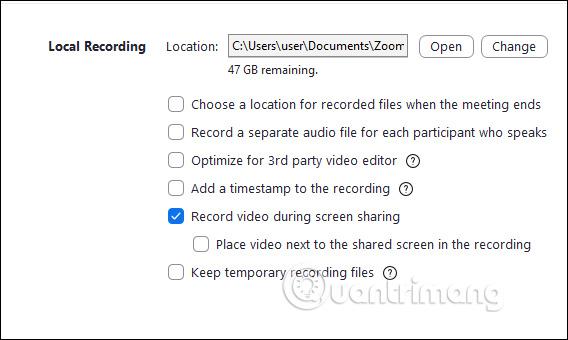 Cách ghi lại video học online trên Zoom Meeting - Ảnh minh hoạ 5