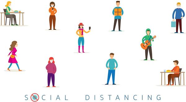 Cách ly xã hội  Social distancing nguoidentubinhduong'blog
