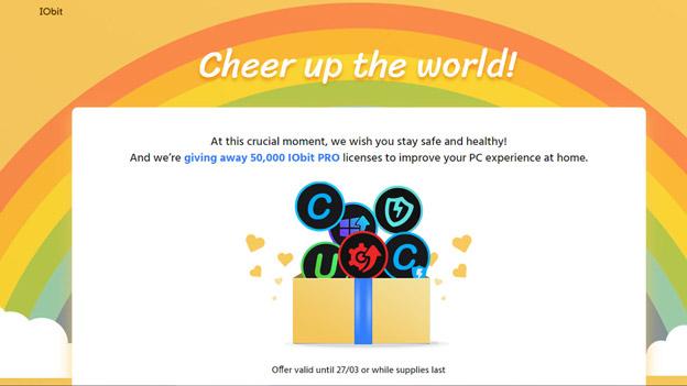 IObit tặng 50.000 code bản quyền PRO, sử dụng mọi phần mềm của hãng