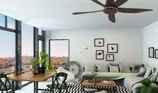 Bỏ túi 5 kinh nghiệm chọn quạt trần đẹp cho phòng khách