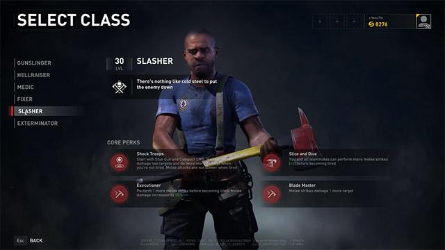 class nhân vật world war z