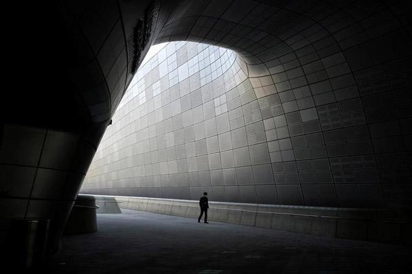 Một trung tâm triển lãm ở Seoul, Hàn Quốc ngày 25/3