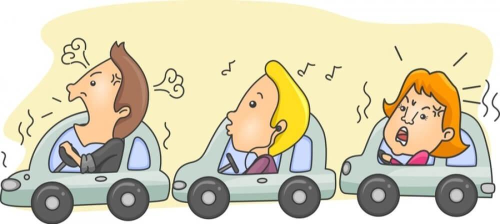 Tình trạng tắc đường giờ cao điểm cùng với không gian bí bách trong ô tô có thể khiến tâm trạng người lái xe bị ảnh hưởng, sinh bực tức