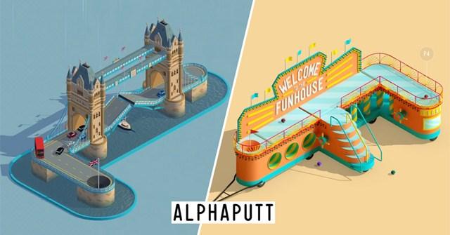 Mời tải Alphaputt, tựa game đánh golf với thiết kế đẹp mắt, đang được miễn phí