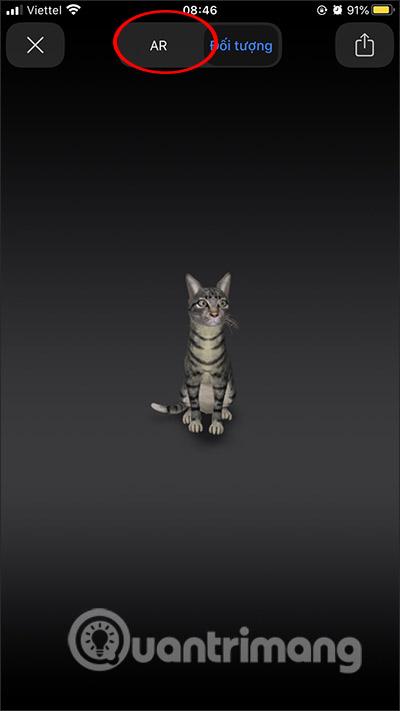, Cách xem con vật 3D, sư tử 3D trên điện thoại [NEW]
