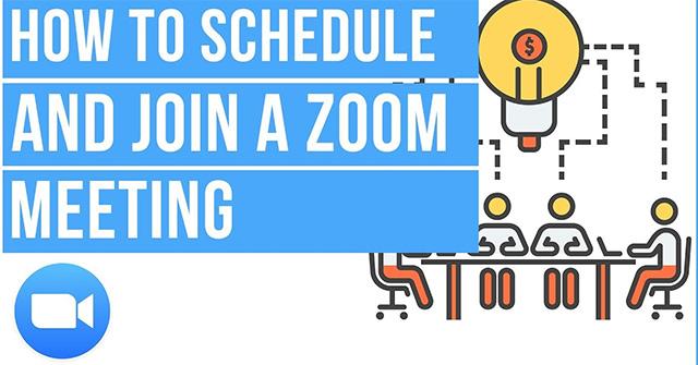 Cách lên lịch học online trên Zoom