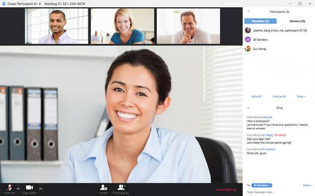 Zoom là một lựa chọn tuyệt vời và phổ biến cho hội nghị trực tuyến