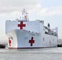 USNS Comfort, siêu tàu bệnh viện vừa được gửi đến New York có gì đặc biệt?