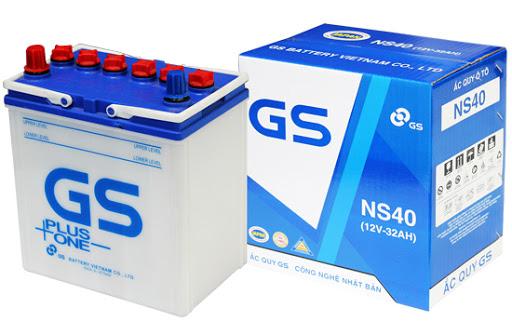 Ắc quy ô tô GS NS40 R/L