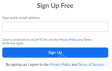 Nhập email có đuôi @edu.vn vào khung đăng ký