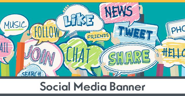 Cách tìm ảnh bìa Facebook, Twitter miễn phí trên Mind Your Banners