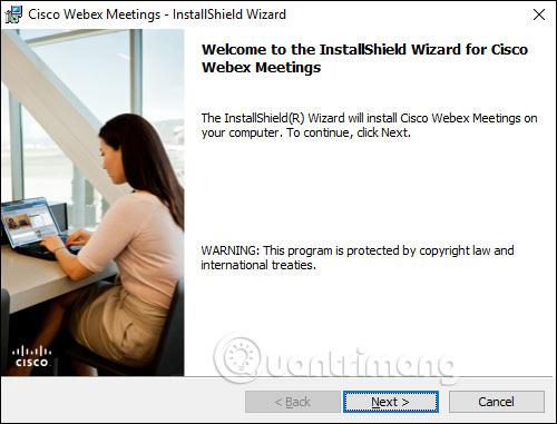 Webex Meet trên máy tính