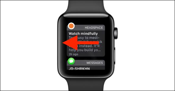 Chọn ứng dụng từ Apple Watch
