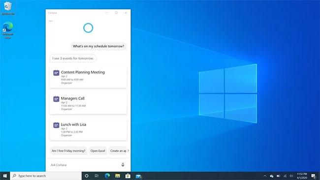 New Cortana of Windows 10