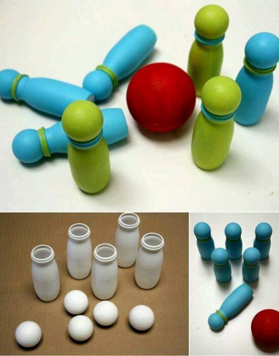 Đồ chơi được làm từ hộp sữa susu