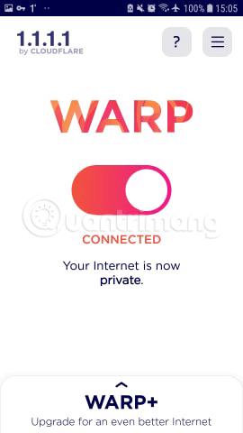 Kết nối đã thiết lập xong