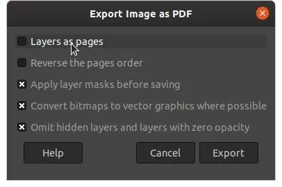 Đặt cho tài liệu mới đã ký một tên khác và xuất ở định dạng PDF