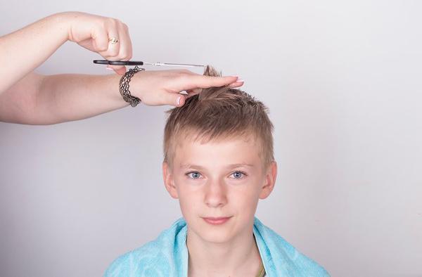 Xác định độ dài tóc cần cắt