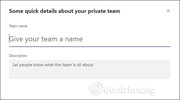Tạo tên nhóm