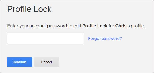 Nhập mật khẩu tài khoản