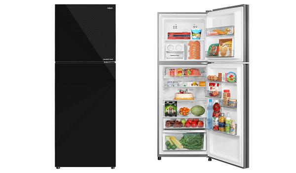 Tủ lạnh 2 cánh AQUA Inverter AQR-IG336DN