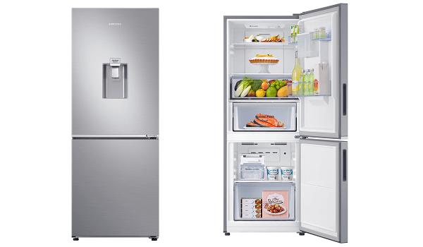 Tủ lạnh 2 cánh ngăn đông dưới Samsung RB27N4170S8/SV