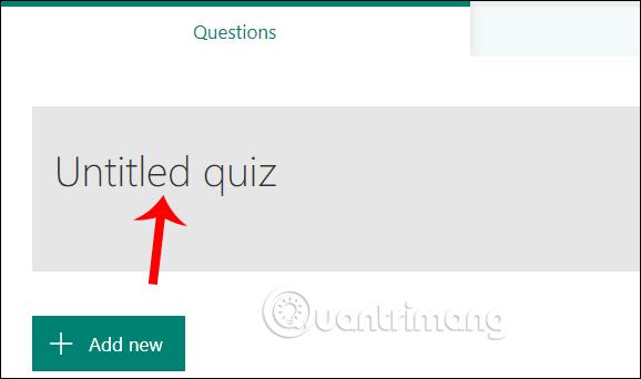 Chọn bài kiểm tra