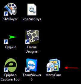 Tải xuống và khởi động ứng dụng ManyCam