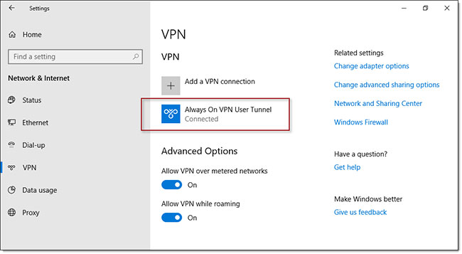 Always On VPN được cho là dễ quản lý hơn DirectAccess